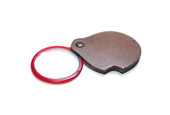 PEER® Pocket Magnifier with Attached Leather Case, Item No. 29.684