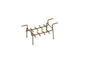 Ring Rack - 16 Rings, Item No. 23.624