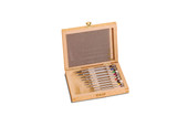 Set of Watchmakers' Screwdrivers in Wood Box, Item No. 52.0905