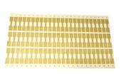 Mylar Gold Computer Tags    1M, Item No. 61.850