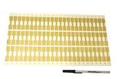 Shark-Skin Gold Cptr. Tags 10M, Item No. 61.755