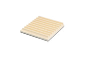 Cordiorite Soldering Board with Grooves, Item 54.219