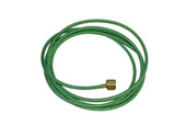 8 Foot Green Oxygen Hose and Connector Assembly, Item No. 14.053