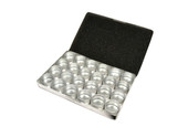 24 Piece Round Storage Box Set, 15.165