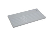 Grooved Sorting Tray, White, Item No. 61.469