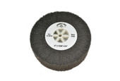 "Silicon Oxide Flap Wheel, Very Fine, 4"" x 1-3/8"", Item No.17.812"