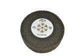 "Silicon Oxide Flap Wheel, Micro Fine, 4"" x 1-3/8"", Item No. 17.815"