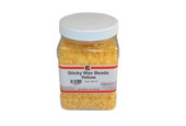 Sticky Wax Beads, Yellow, Item No. 21.516