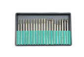 Assorted Diamond Burs, Set of 20, Item No. 19.125