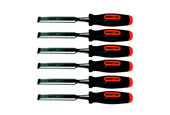 6-piece Set of Wood Carving Chisels, Item 52.280