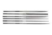 Grobet USA 20cm, 6-pc Needle File Set, Cut 2, Item No. 31.68401