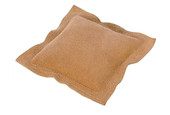 "10"" Square Leather Sandbag, Item 25.486"