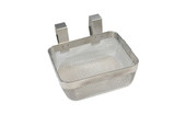 "Stainless Steel Ultrasonic Basket 5"" X 4"" X 2"", Item 23.590"