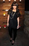 LnA Olivia leggings in Black as seen on Kim Kardashian