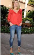 Jet by John Eshaya Hippie Fade jeans as seen on Heidi Klum, Kim Kardashian and Nicole Richie