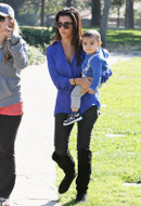 Bleulab Reversible Jeans in Granite as seen on Kourtney Kardashian