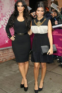 Ani Lee Agnes Dress in Black/Cream as seen on Kourtney Kardashian