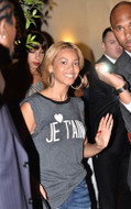 Wildfox Je'Taime Dylan Tee in Black as seen on Beyonce
