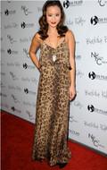 Blu Moon Summer Lovin Maxi Dress in Leopard as seen on Jamie Chung