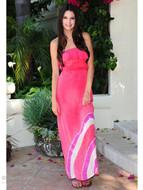 Gypsy 05 Gili Silk Ruffle Tube Dress as seen on Kendall Jenner Kardashian