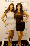 David Lerner Mesh Tank Dress in Black as seen on Kim Kardashian