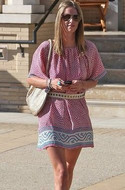 Tolani Collection Mosaic Tunic as seen on Nicky Hilton