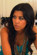 Tiger Lily Jewelry Large Ethiopian Base Metal Single Strand Necklace in Silver as seen on Kourtney Kardashian