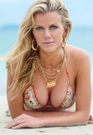 Tiger Lily Jewelry 5 Layer Petite Crystal Ethiopian Necklace as seen on Kourtney Kardashian, Brooklyn Decker and Hillary Rhoda in Sports Illustrated