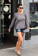 Wildfox Friday Night Short in Dark Wash as seen on Halle Berry, Vanessa Hudgens, Ashley Tisdale and Alessandra Ambrosio