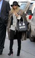 Jet by John Eshaya Bolt Black Skinny Jean as seen on Nicole Richie