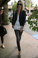 Jet by John Eshaya Faded Black Skinny Jeans as seen on Nicky Hilton and Nicole Richie