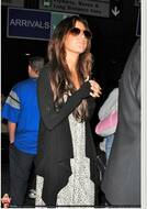 Jet by John Eshaya Blanket Jacket in Black as seen on Ashley Tisdale