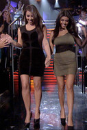 David Lerner Velvet Star Tank Dress as seen on Kim Kardashian