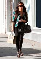 LnA Ribbed Equestrian Leggings as seen on Kim Kardashian