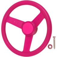 Pink Steering Wheel.