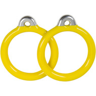 Commercial Coated Trapeze Rings Yellow.