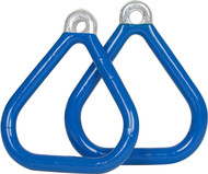 Trapeze Rings for Swing Set Blue.