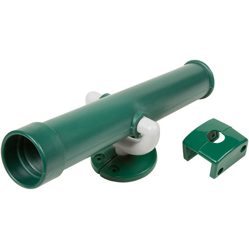 Toy telescope swing set accessory Green.