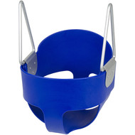 Our High Back Bucket Swing is great for little ones.