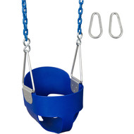 Our Highback Full Bucket Swing Seat with Coated Chains is just what your playground needs.