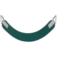 Commercial Rubber Belt Seat Green.