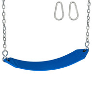 Residential Belt Swing Seat Blue.