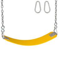 Polymer belt seat Yellow.
