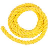 Polypropylene Rope for swing set Yellow.