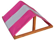 Multi Color Custom Tarp Swing Set Pink White.
