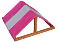 Multi Color Custom Tarp Swing Set Pink White.