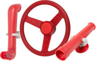 Red Telescope Steering Wheel Periscope kit.