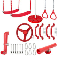 Swing Set Accessory Kit Red.