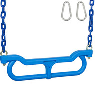 Blue Combo Trapeze with Coated chain.