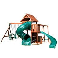 Grandview Twist Swing Set with 5' Turbo Slide